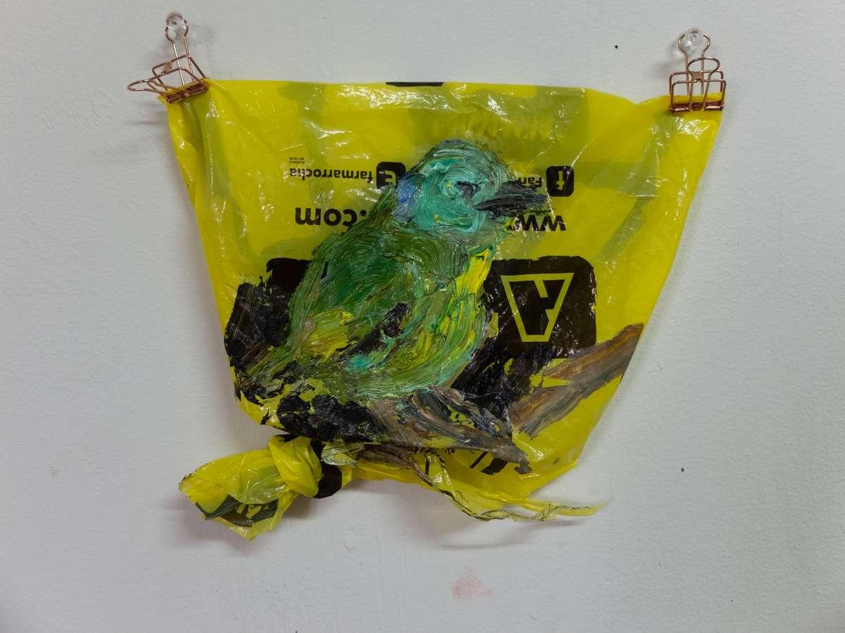 23 Plastic Bird Vireo Painting Stefan Ad M Dscf1404