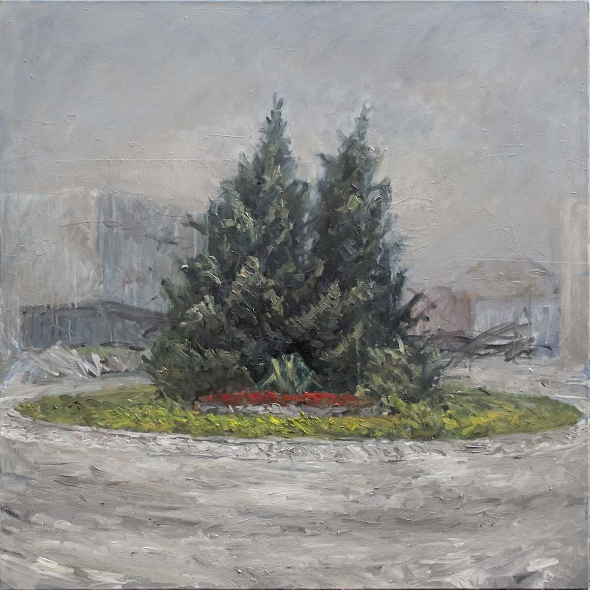 Kreisel Bulle 02 Painting Stefan Aufder Maur