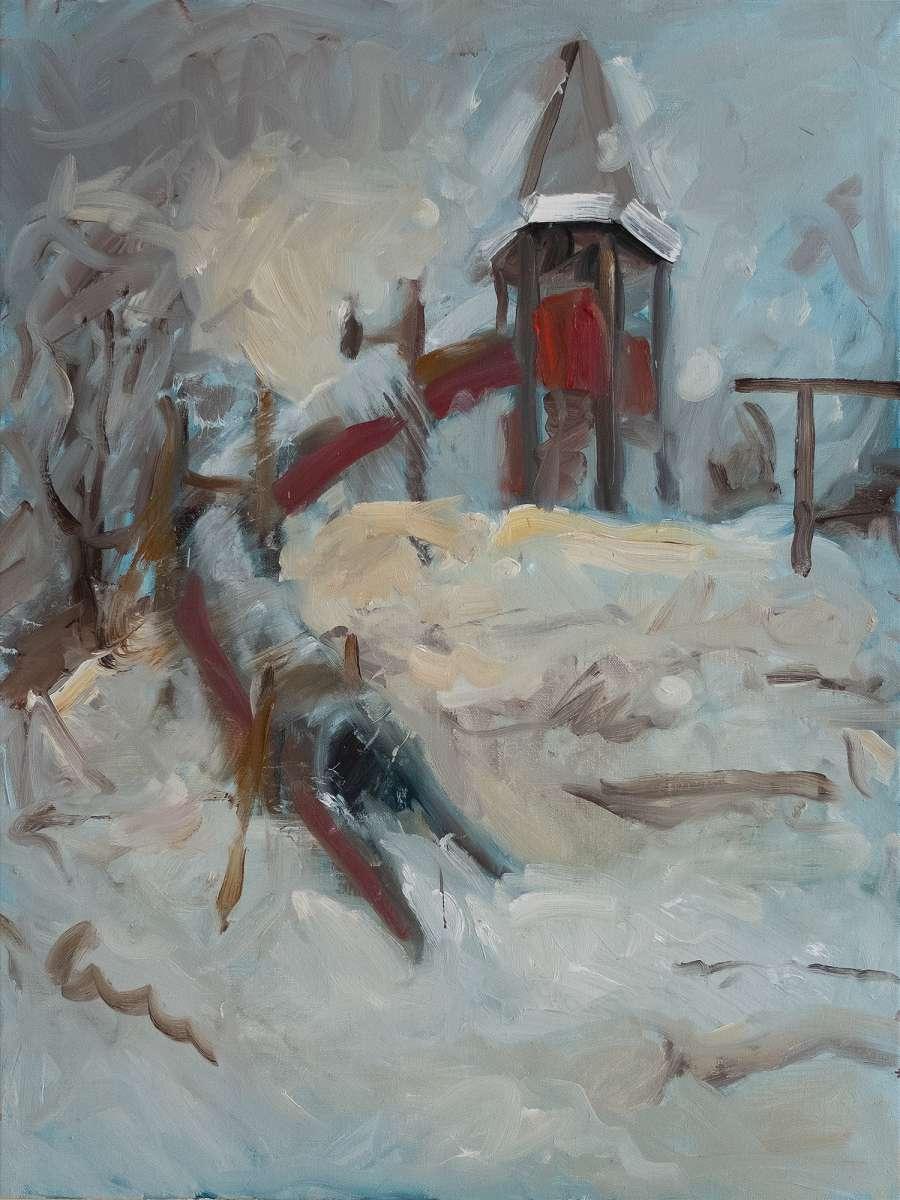 Spielplatz Nr4 Malerei