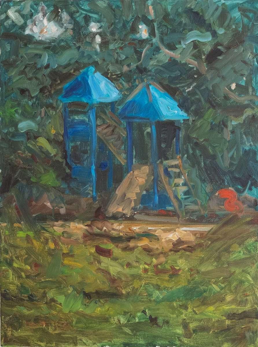 Spielplatz Nr5  Painting